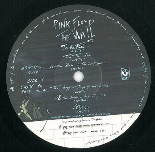 Pink Floyd The Wall Vinyl Lp Planet Earth Records